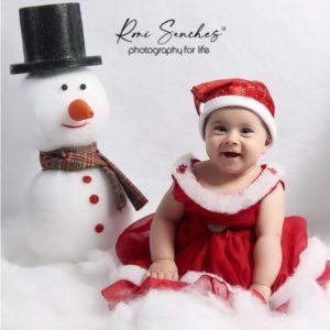 Ensaio Bebê de Natal