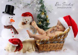 fotos de bebês de Natal