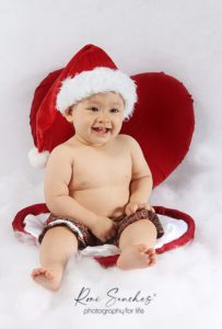 ensaio bebê coração