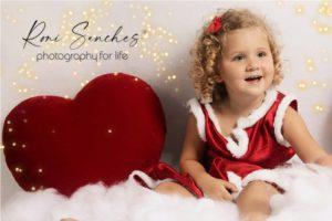 ensaio menina com corações